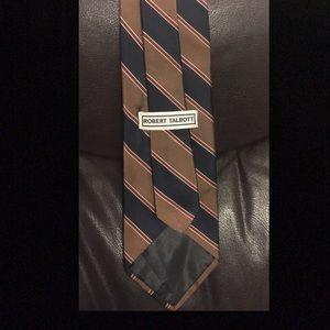 Robert Talbott silk necktie